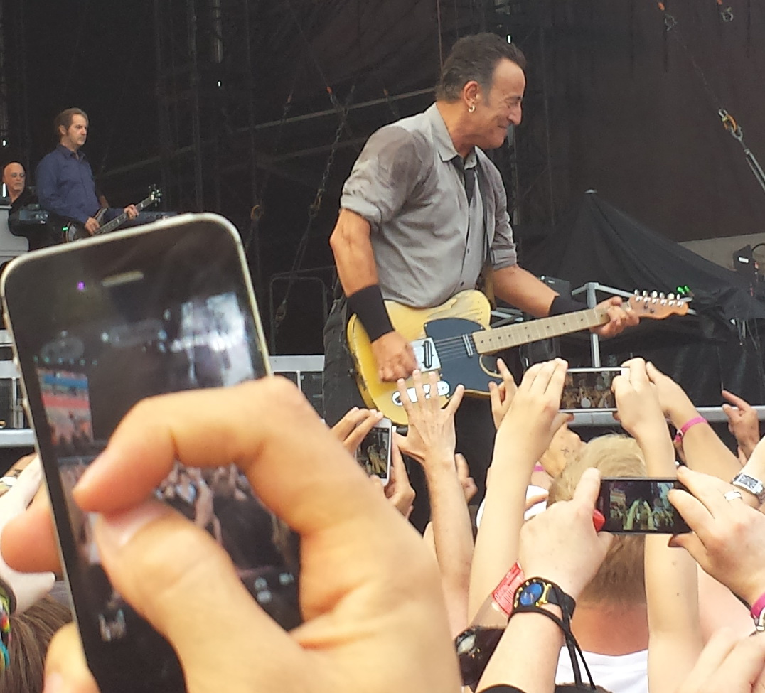 Bruce Springsteen Wrecking Ball Tour Limerick Ireland 2013