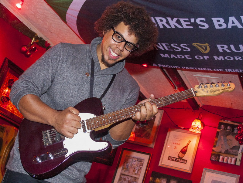 Jake Clemons at Bourkes Bar, Limerick
