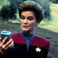 Captain Janeway Says Sun Revolves Around Earth