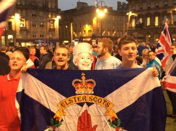 Victorious Unionists Riot In Scotland After Referendum Result