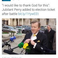 John Perry, God's grocer, claims divine support in Fine Gael dispute
